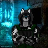 Рисунок профиля (Арсений Волк)